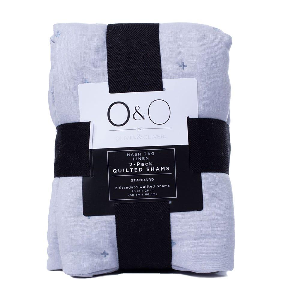 Funda de algodón para almohada O&O by Olivia & Oliver™ color turquesa, Set de 2 piezas