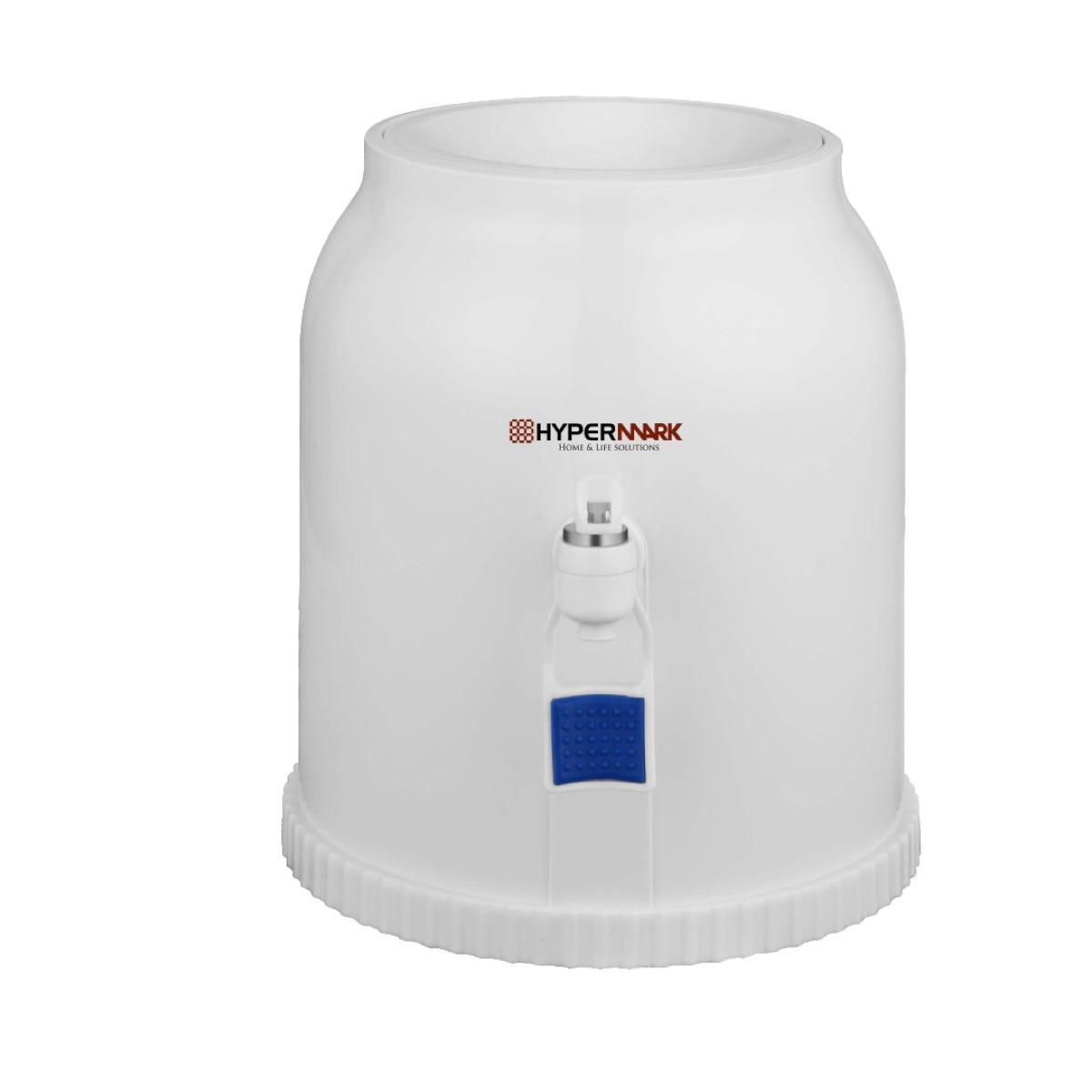 Dispensador de agua Hypermark® de plástico en blanco