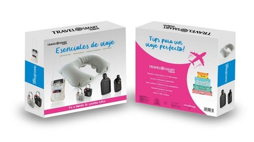 Conair® Travel Smart® Kit de accesorios esenciales de viaje, 5 piezas