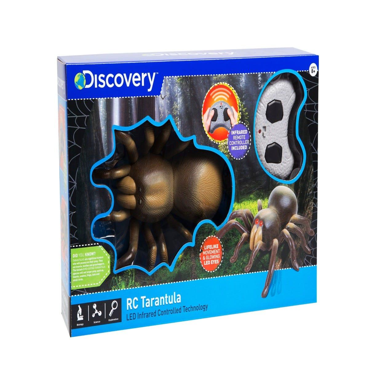 Tarántula de juguete a radio control Discovery®