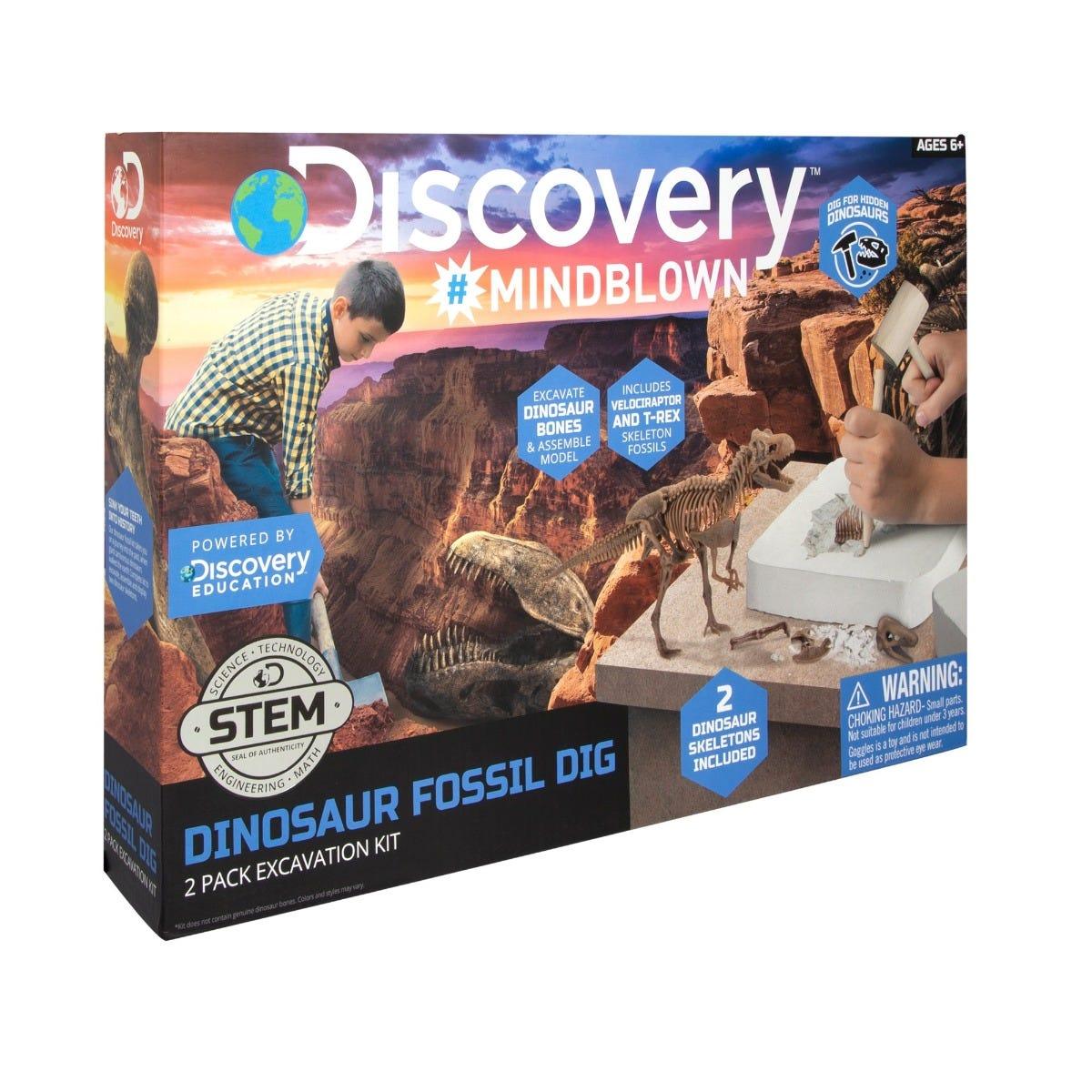 Juego de excavación para encontrar fósiles Discovery®