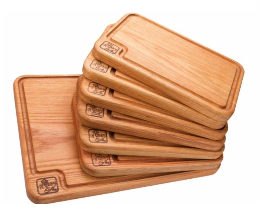 Set de tablas para asados Hobby Grill®  7 piezas