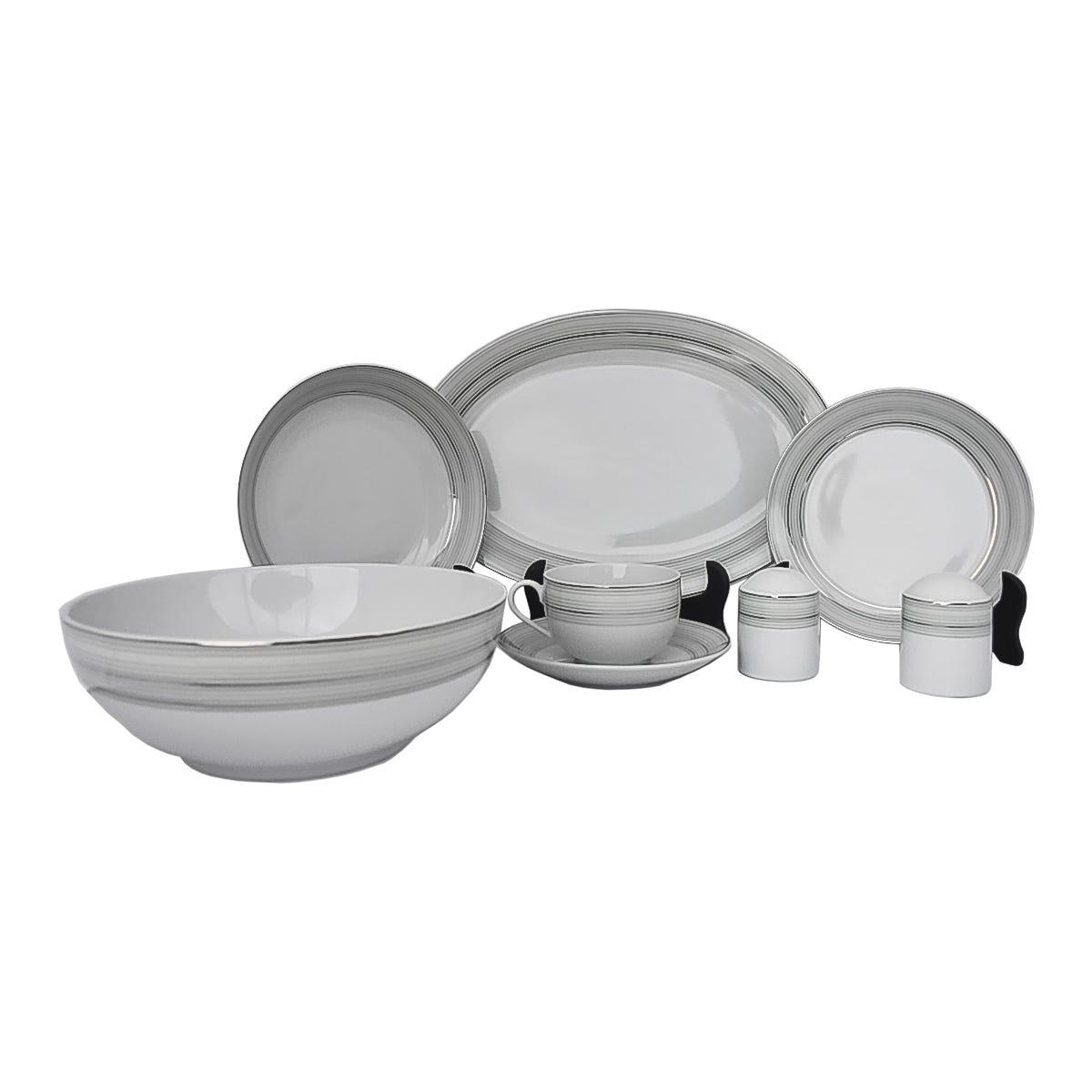 Vajilla Kaiser® de Porcelana 34 piezas