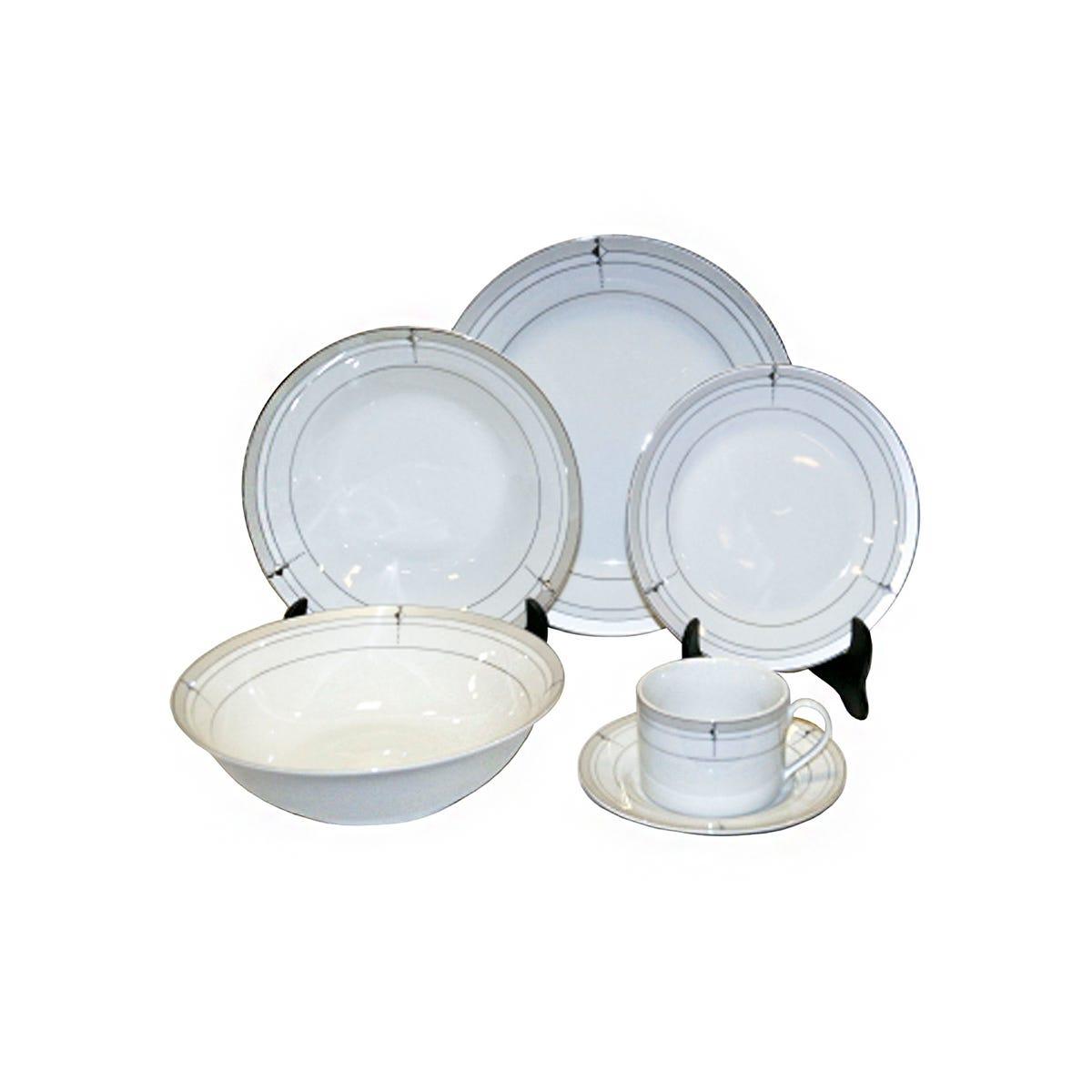 Vajilla Kaiser® de Porcelana 32 piezas
