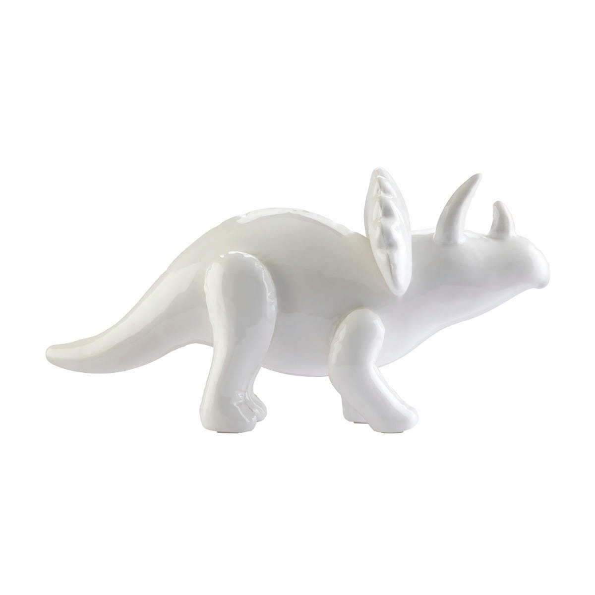 Triceratops tipo Inflable Love and Lemons® color blanco