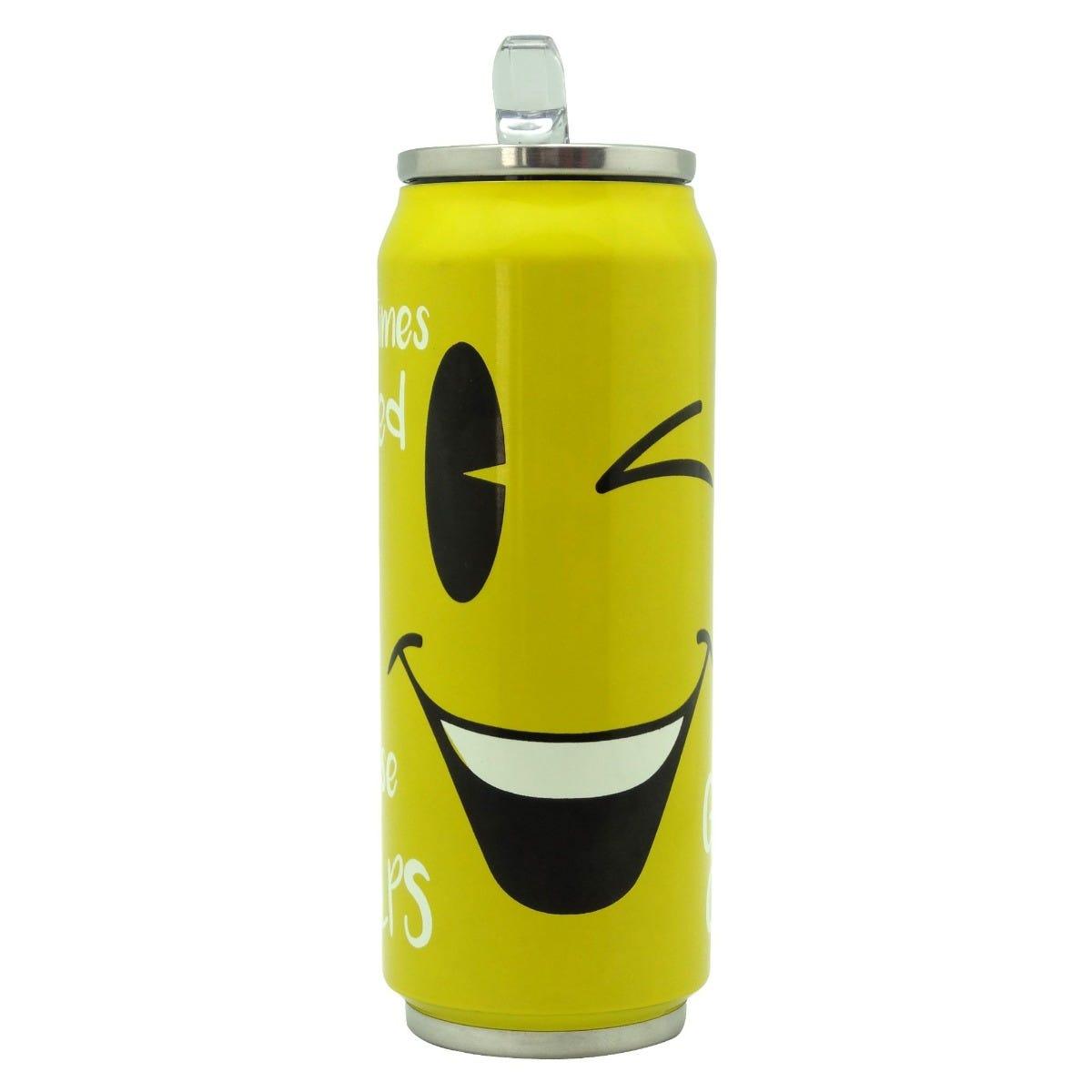 Termolata Running Decora® con Popote Emoji 500 mL