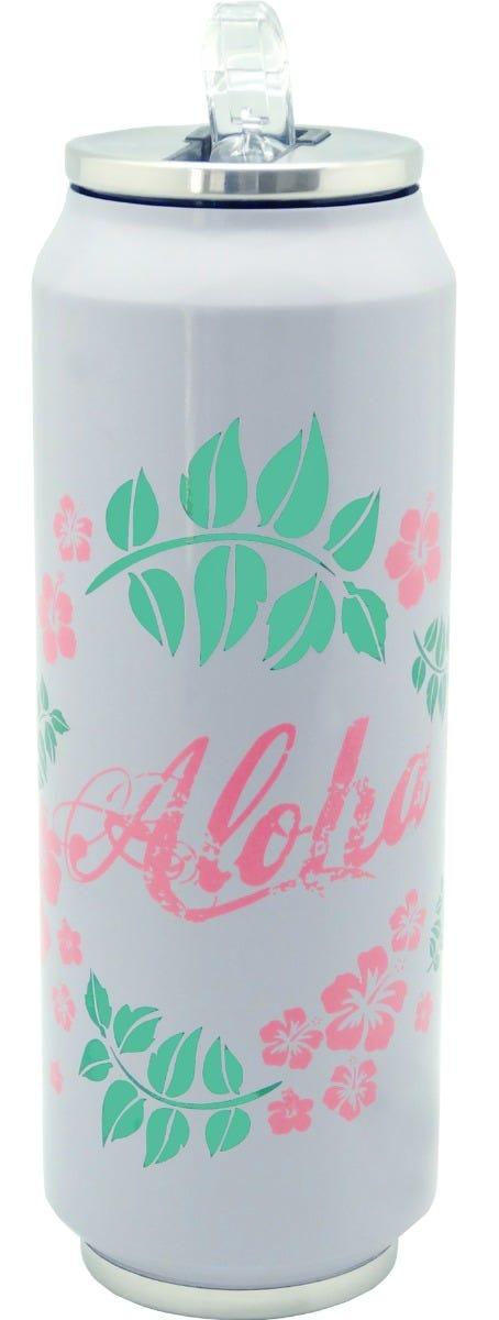 Termolata Running Decora® con Popote Aloha 700 mL