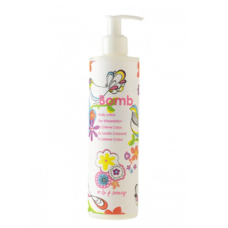 Crema corporal Bomb Cosmetics® Milk and Honey