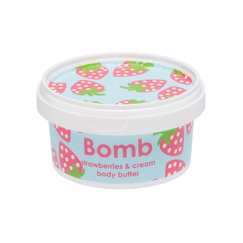 Crema corporal Bomb Cosmetics® Strawberry & Cream