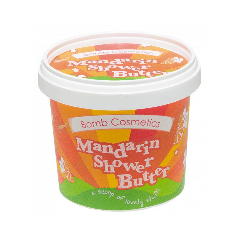 Gel de baño humectánte Bomb Cosmetics® Mandarin Shower