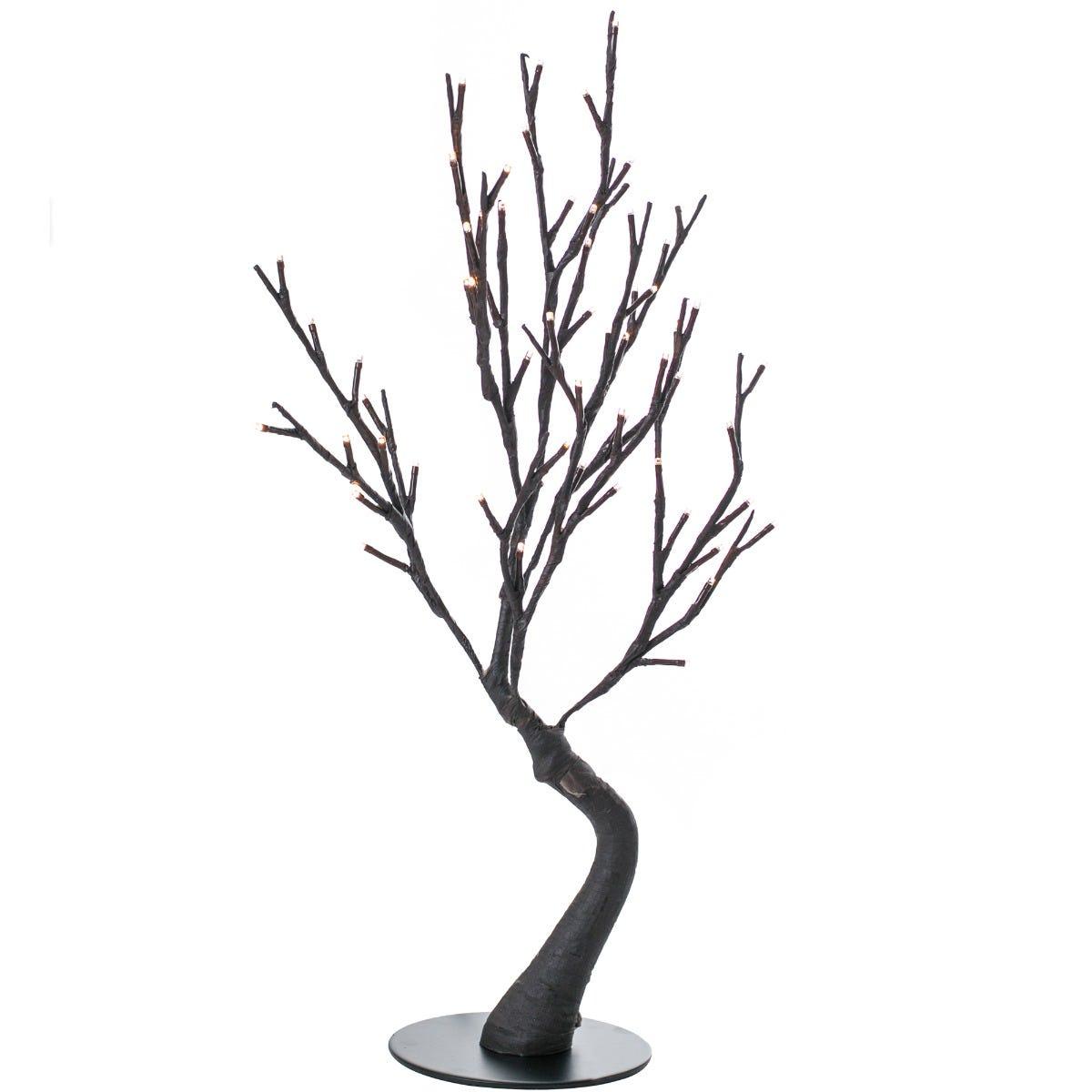 Figura decorativa de plástico Running Decora® Campos Elíseos de 60 LEDS