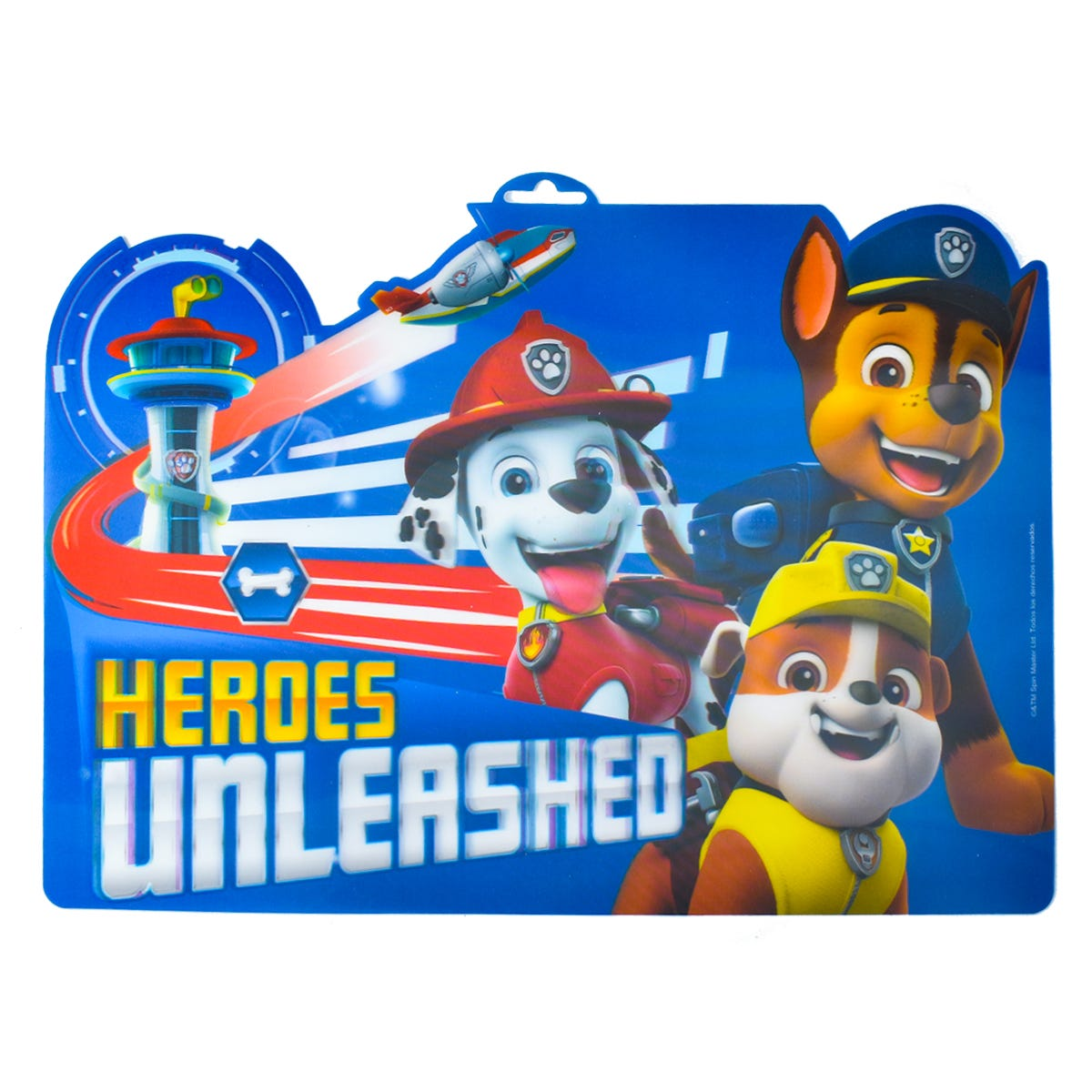 Mantel para niños de plástico Fun Kids® de Paw Patrol tamaño estándar color azul