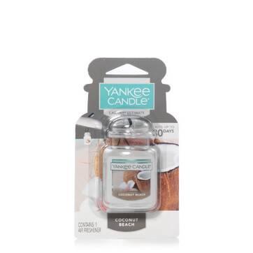 Vela aromatizante para auto Yankee Candle® Ultimate aroma Coconut Beach