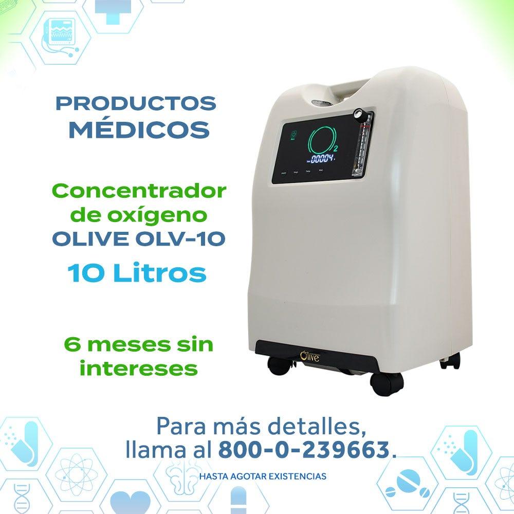 Concentrador de Oxígeno OLIVE 10 L