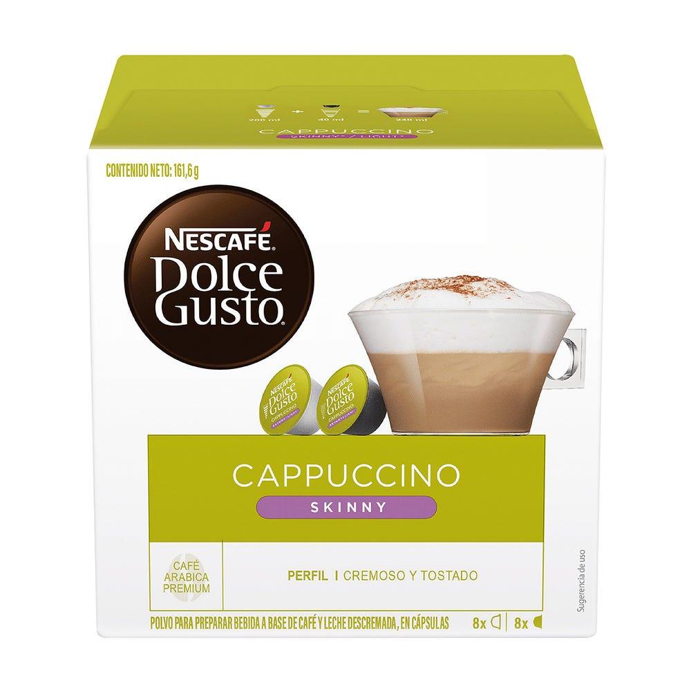 Cápsulas Nescafe® Dolce Gusto® Skinny Cappuccino, Paquete de 16 pzs