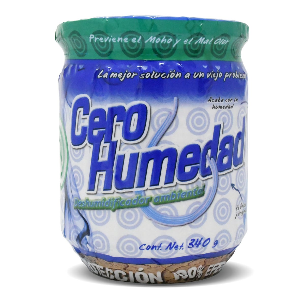 Deshumidificador ambiental Cero Humedad® de 340 g