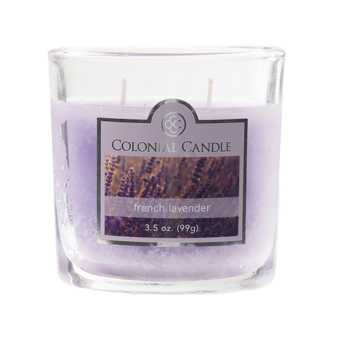 Vela en vaso de vidrio Colonial Candle® French Lavender