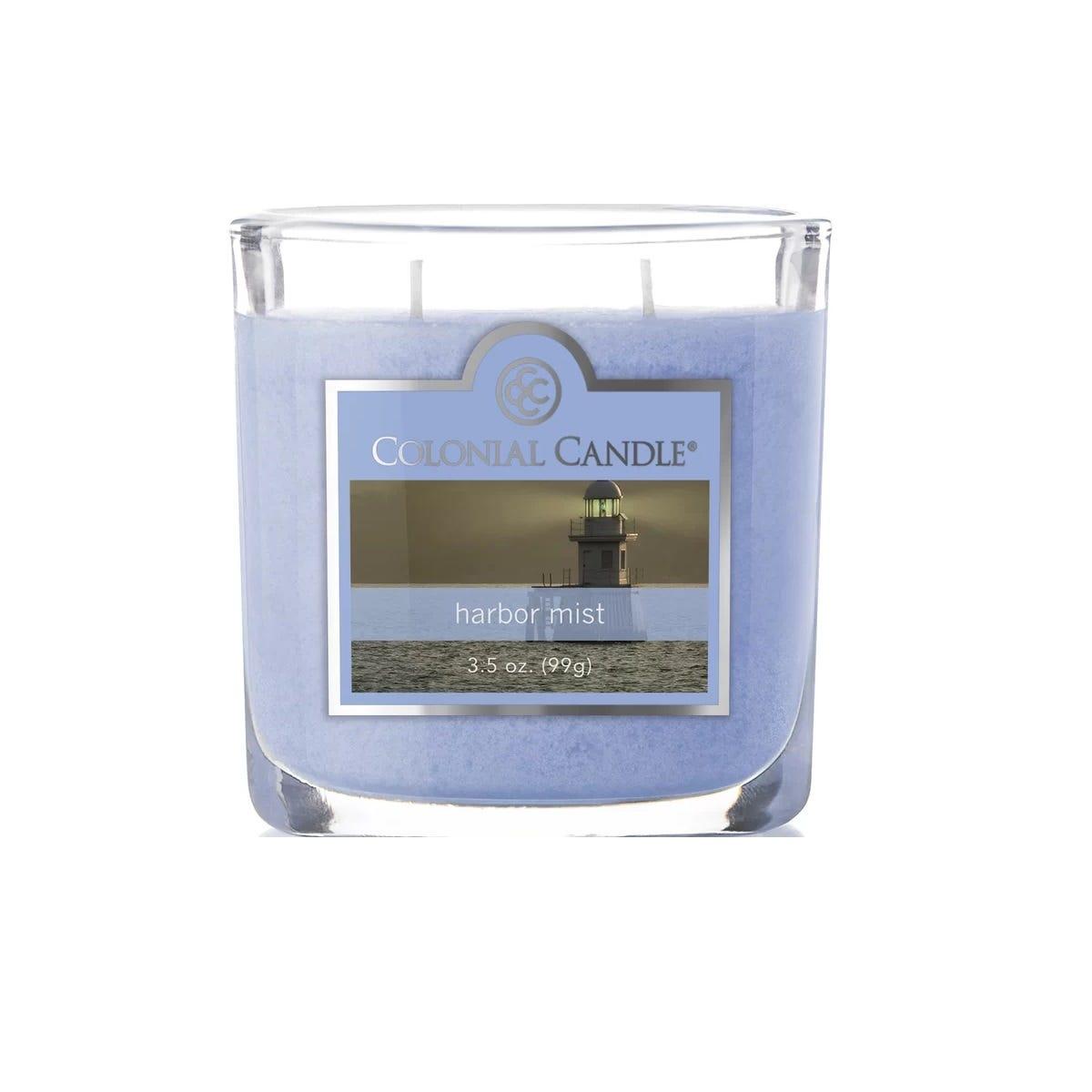 Vela en vaso de vidrio Colonial Candle® Harbor Mist