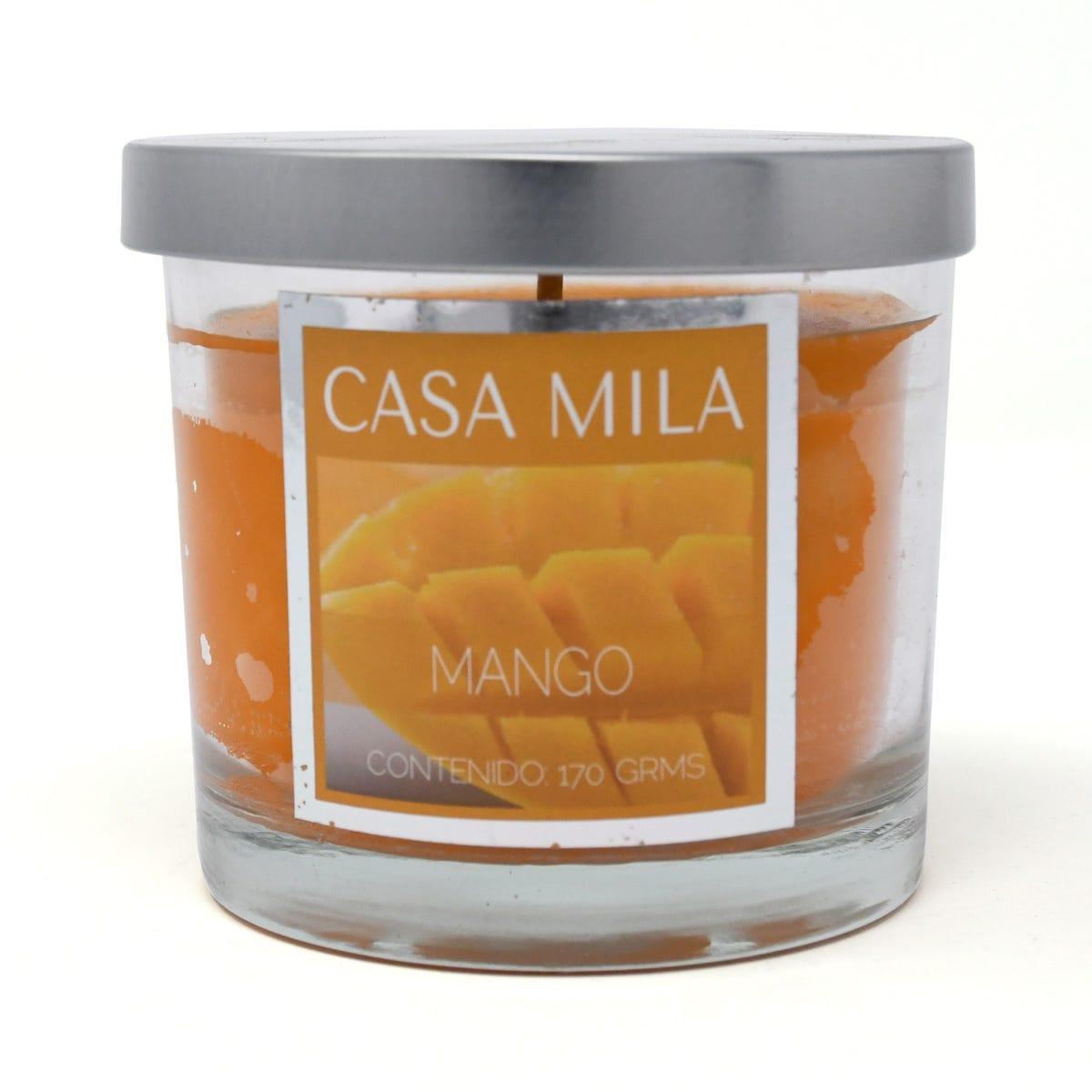 Vela en vaso de vidrio Colonial Candle® Mango Salsa