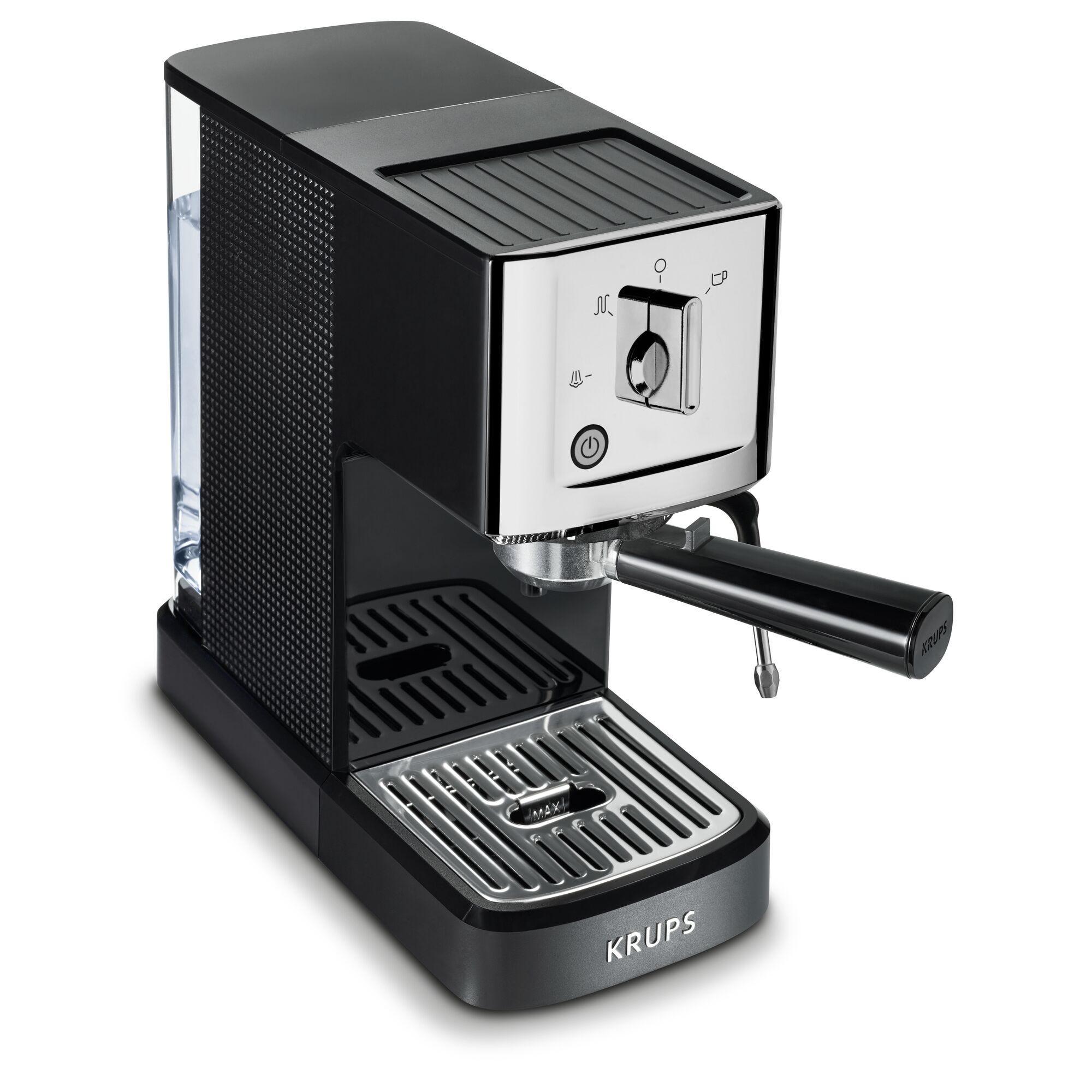 Cafetera para expreso Krups® en negro