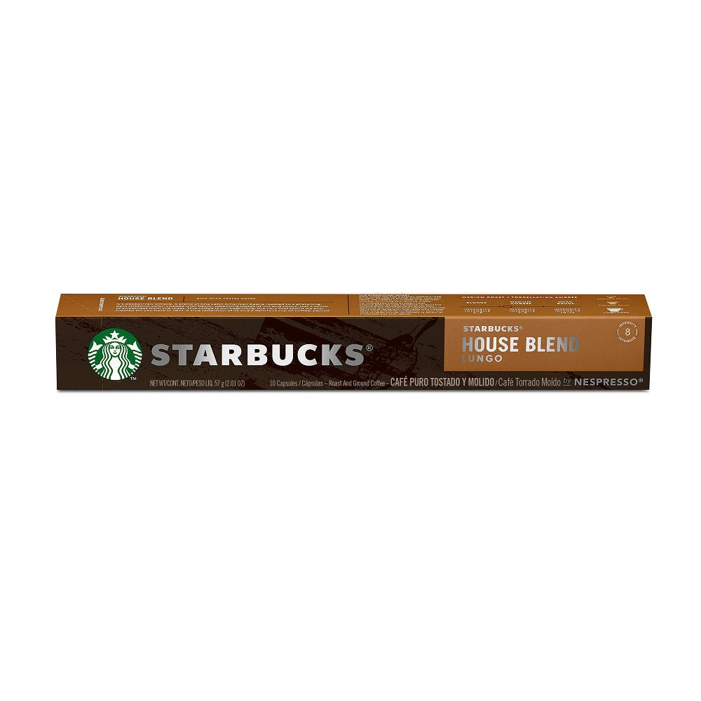 Cápsulas de café Starbucks® Nescafé® Nespresso® House Blend