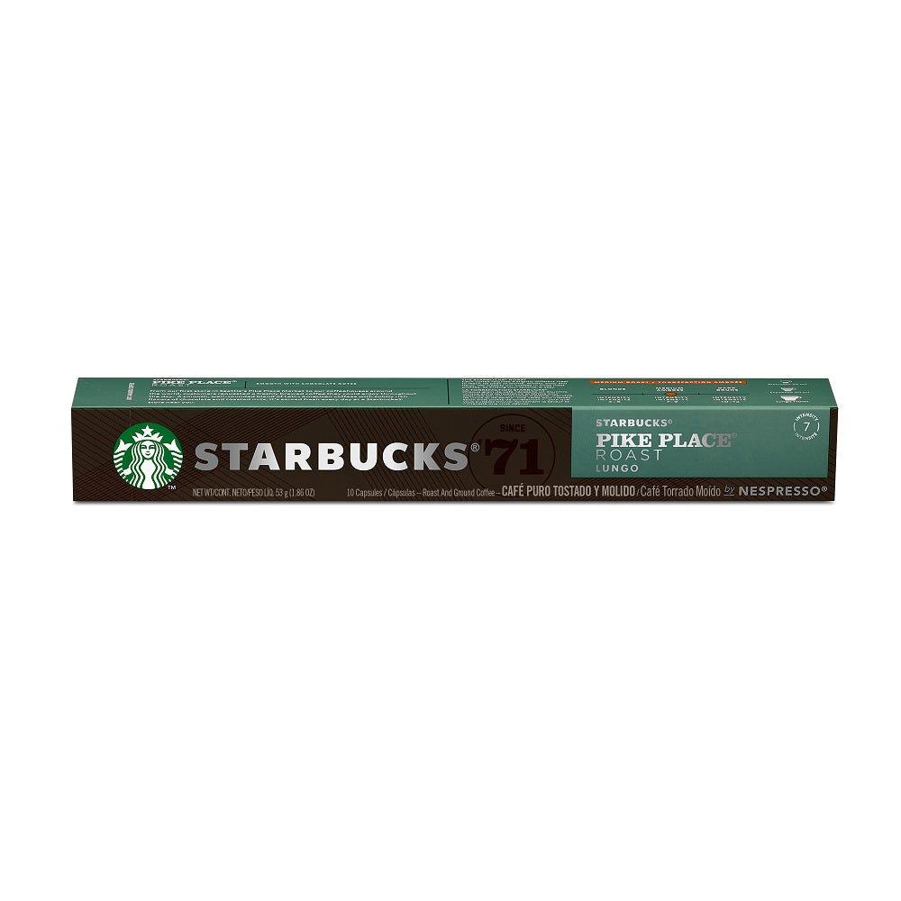 Cápsulas de café Starbucks® Nescafé® Nespresso® Pike Place Roast