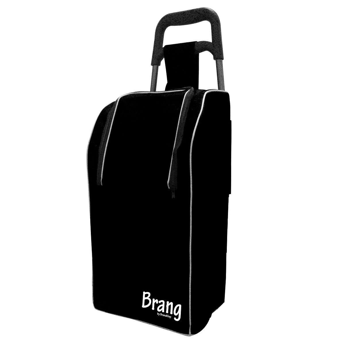 Bolsa hielera para carrito de mandado de aluminio Brang® color negro