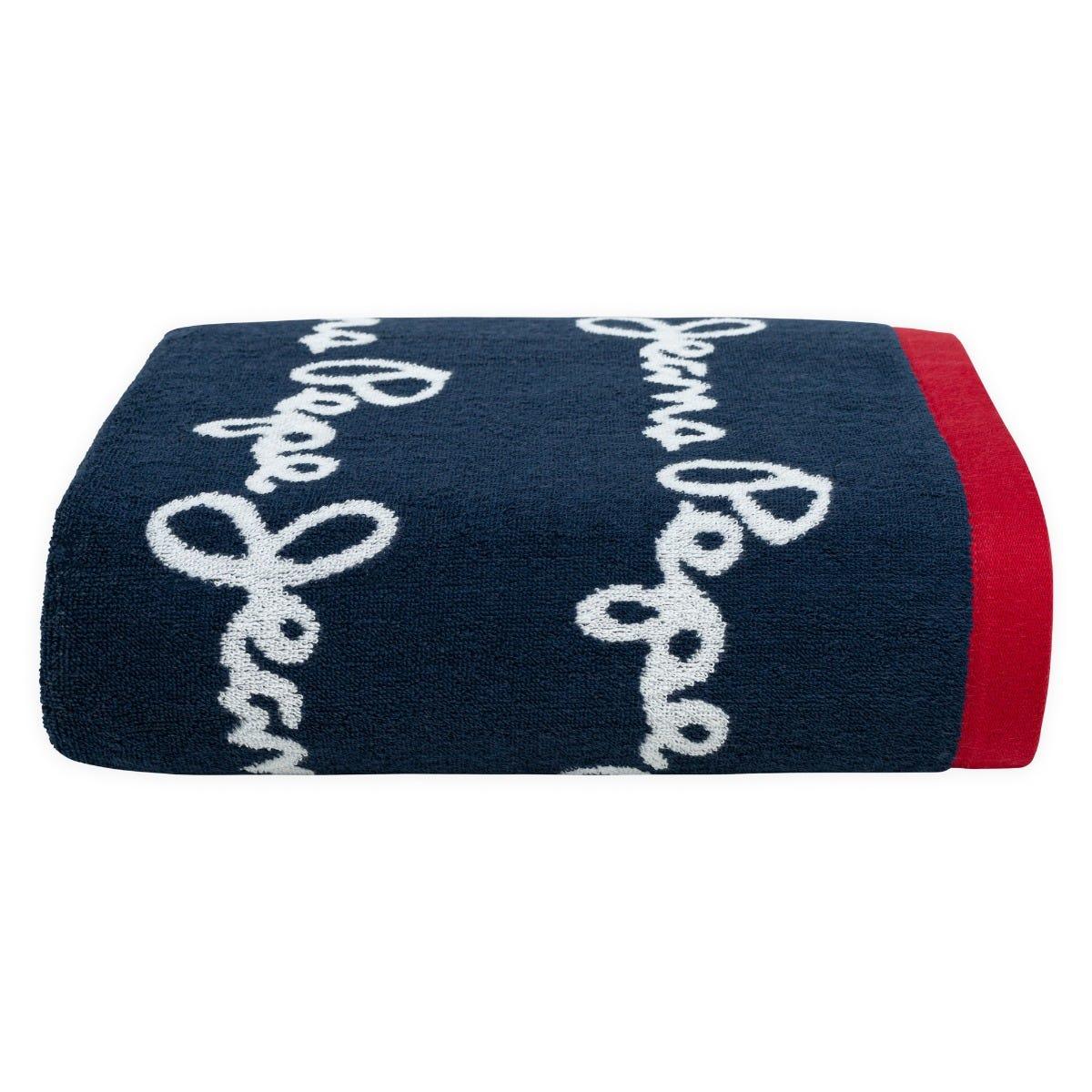 Toalla medio baño Pepe Jeans® Porter en azul