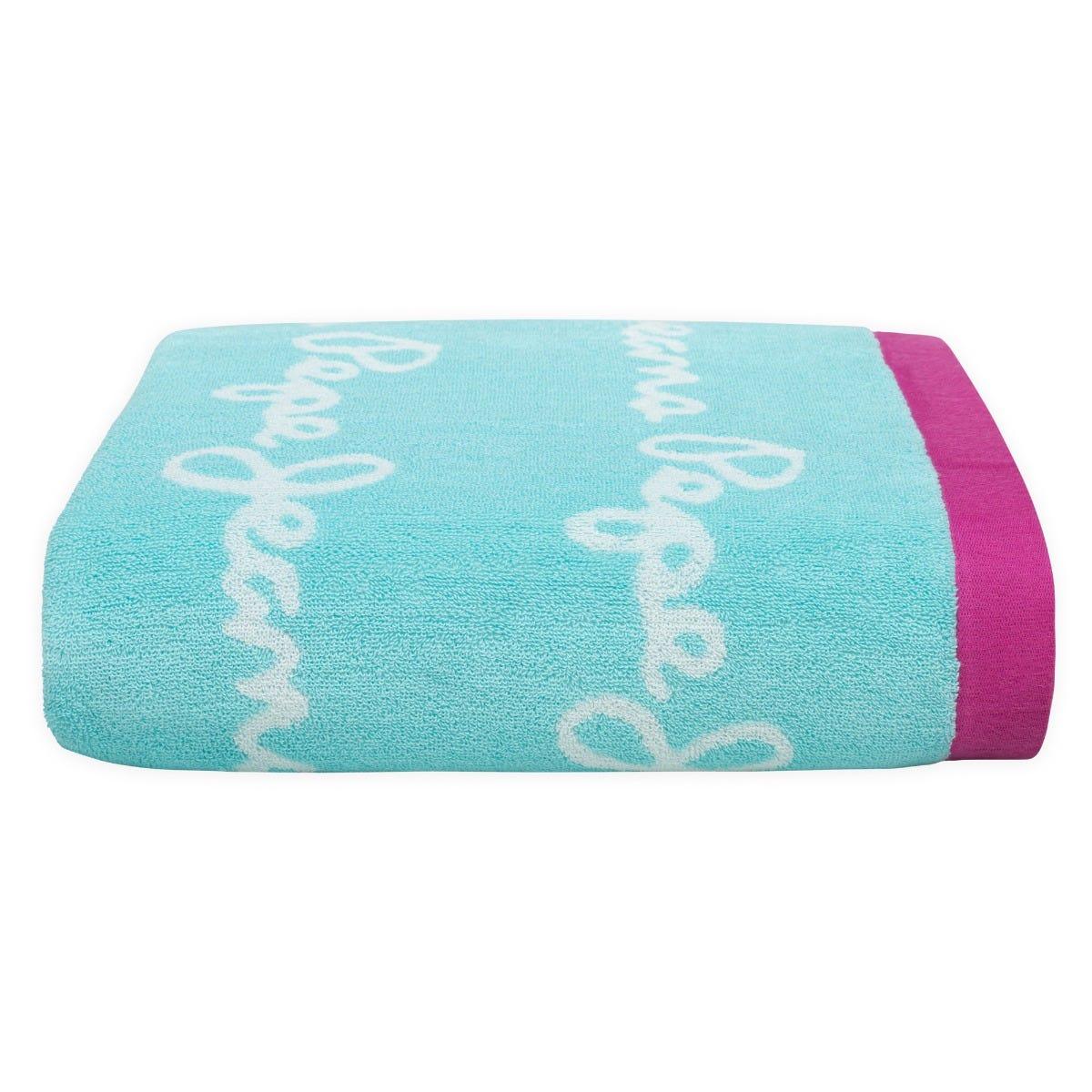 Toalla medio baño Pepe Jeans® Mirelle en turquesa
