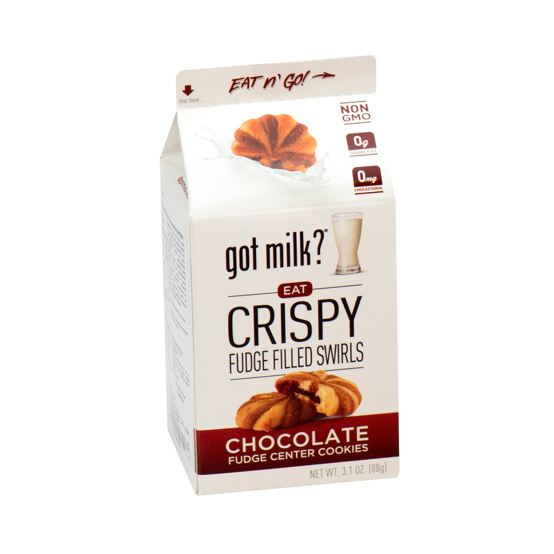 Galletas rellenas de chocolate Got Milk® de 88 g