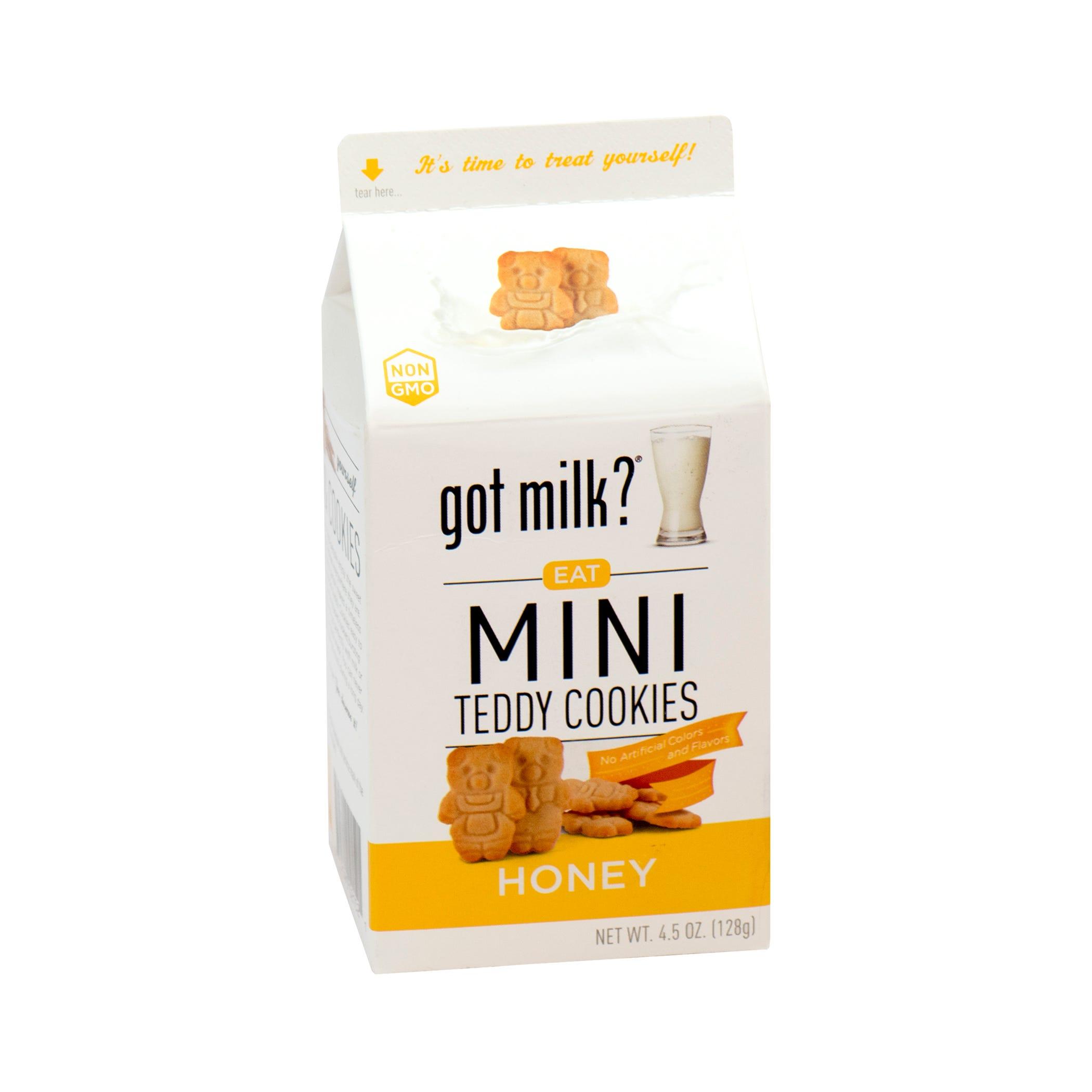 Galletas de miel Got Milk® Teddy de 128 g
