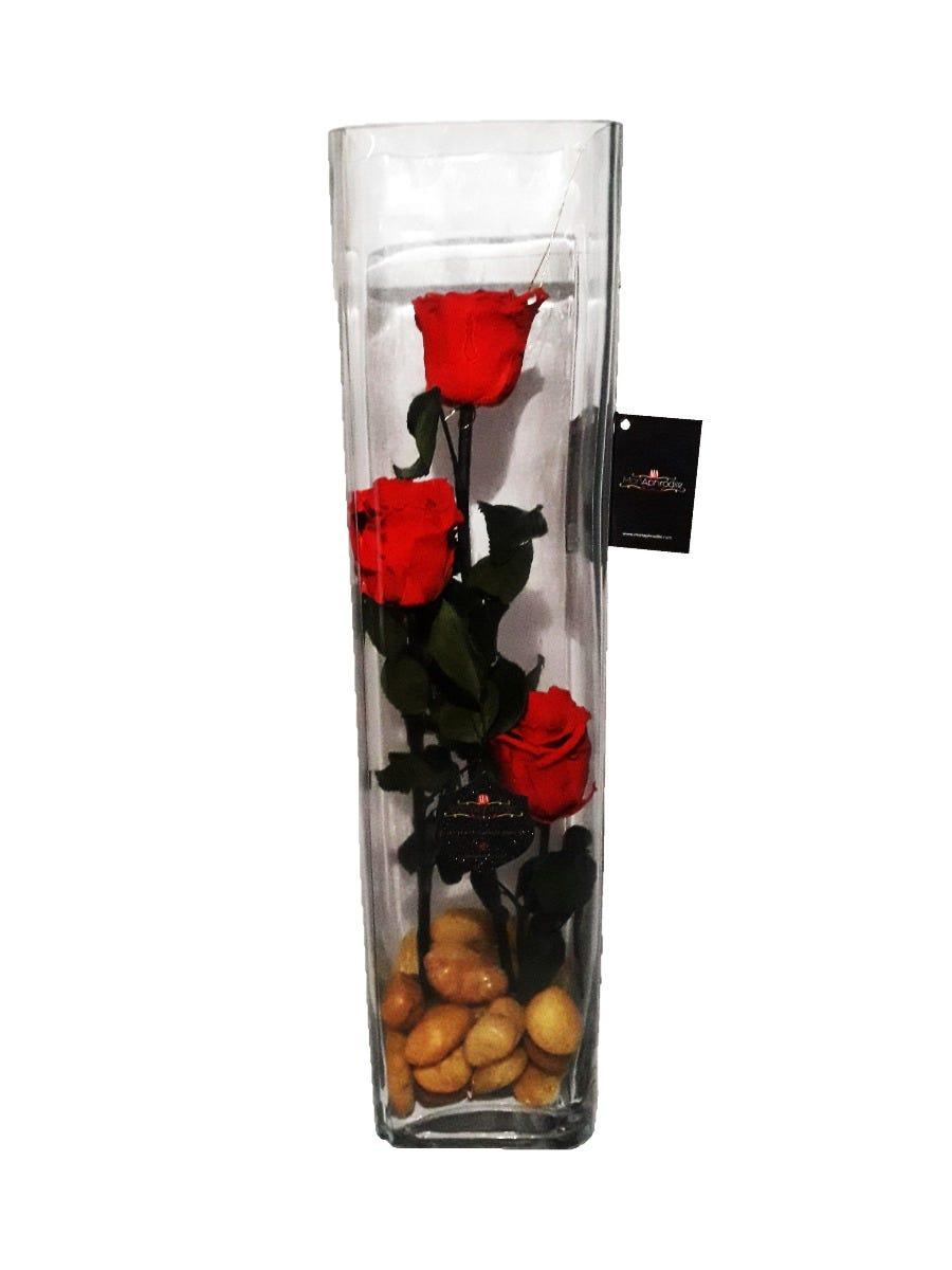 Arreglo floral de rosas naturales Mon Aphrodite® Tower Rose