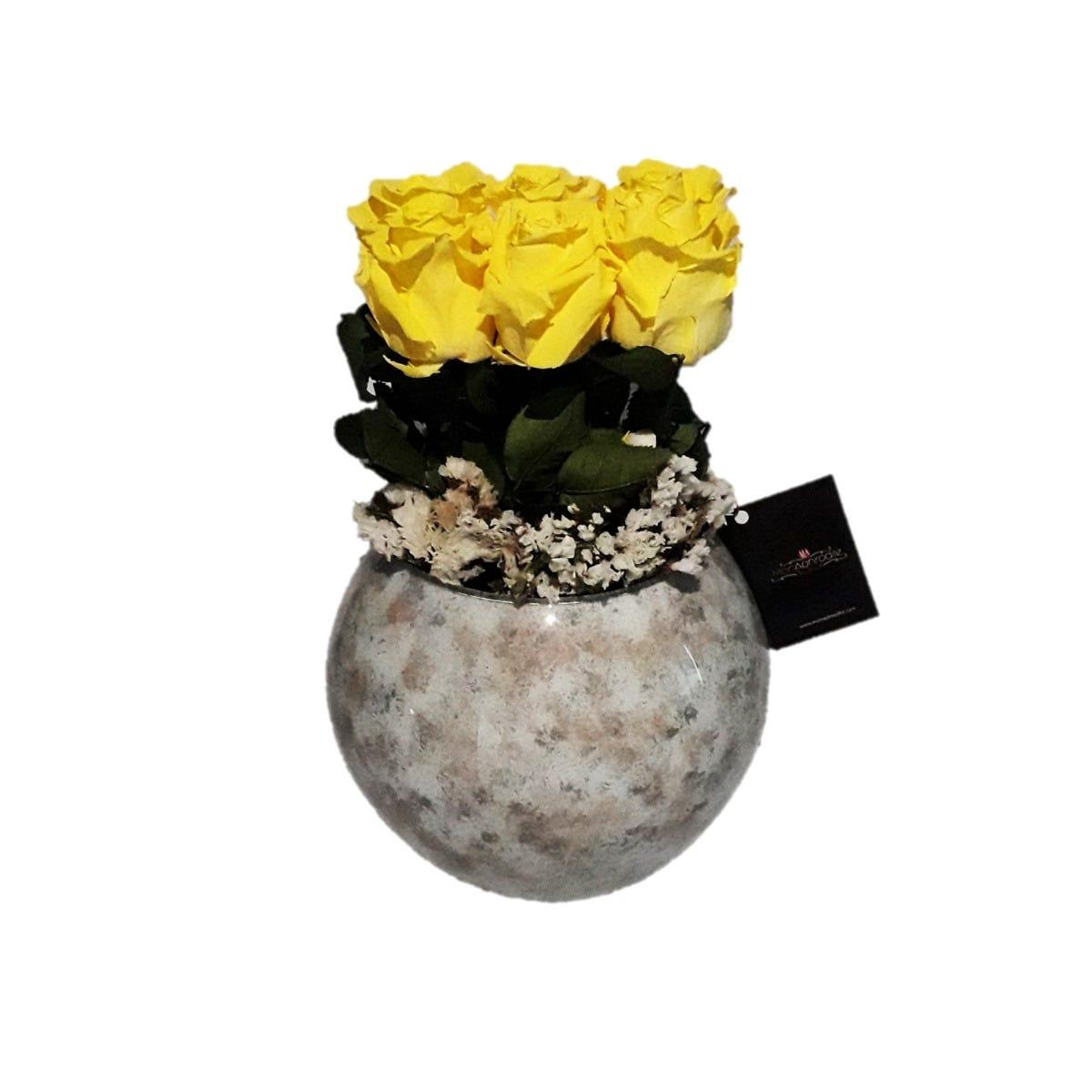 Arreglo floral de rosas naturales Mon Aphrodite® Moon Rose