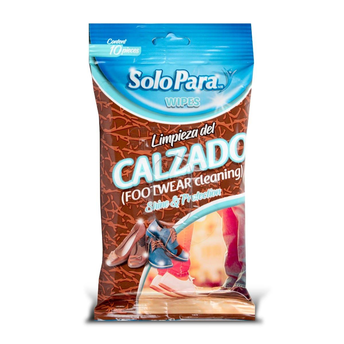 Toallitas húmedas para limpiar zapatos SoloPara®