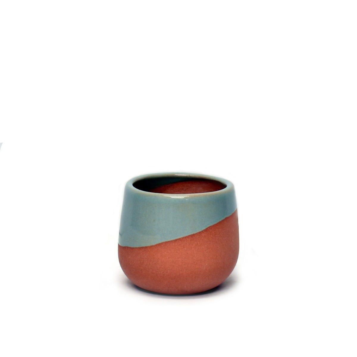 Maceta mini de pasta de barro Casa Mejicu® terracota