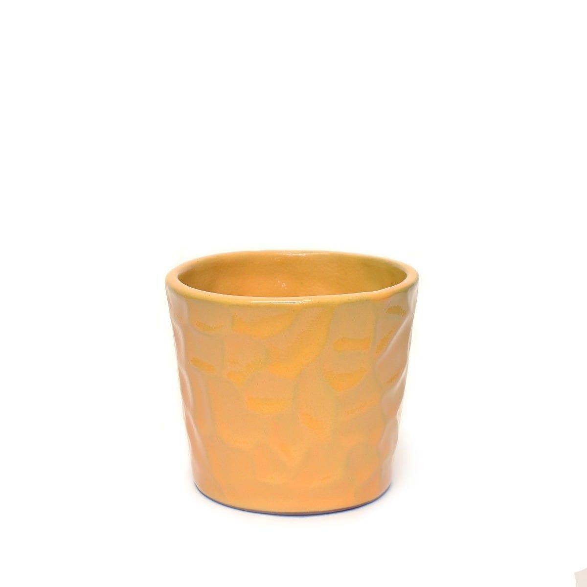 Maceta de pasta de barro rompecabezas artesanal