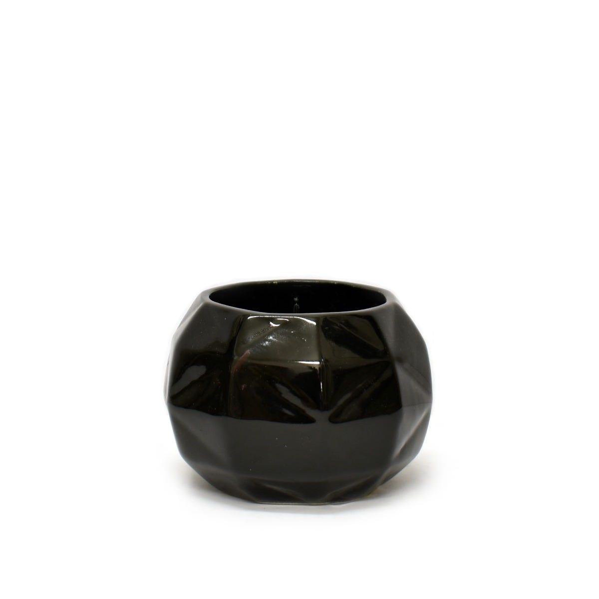 Maceta Casa Mejicu® esférica en negro