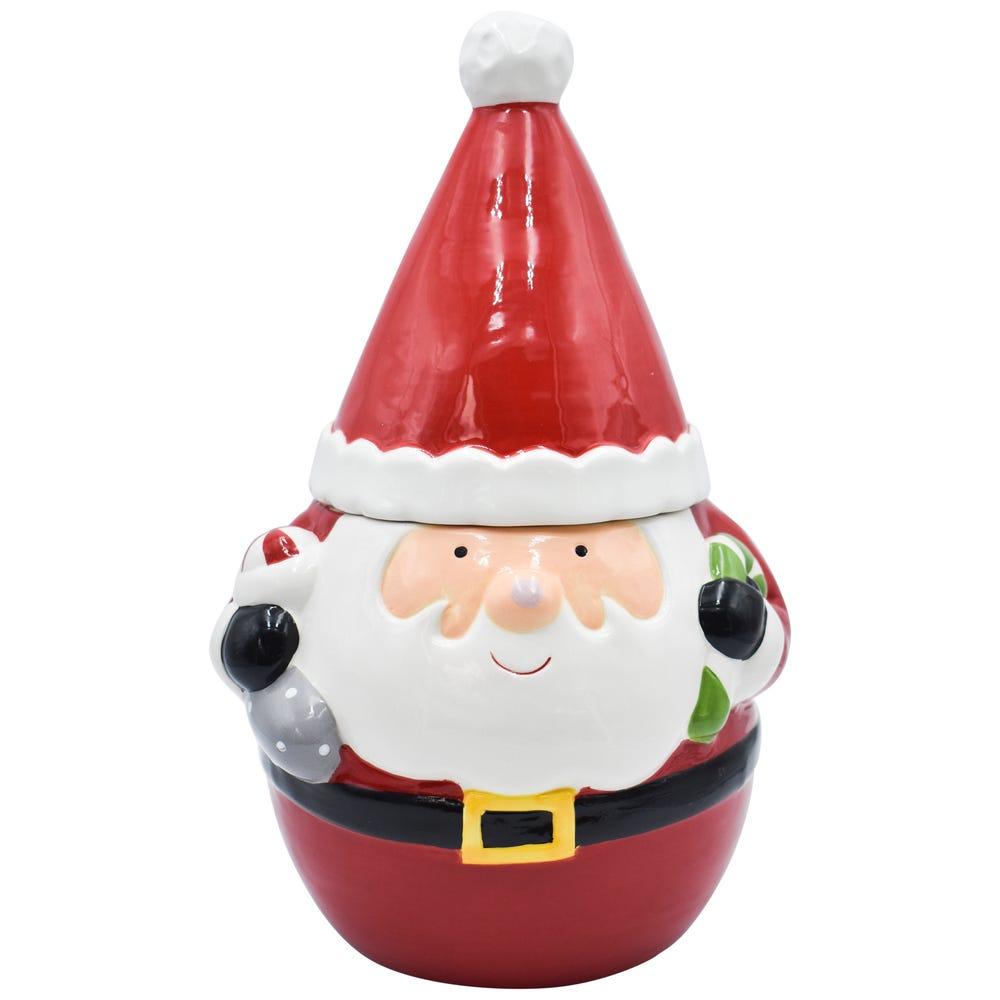 Galletero de cerámica Top Choice Santa Claus