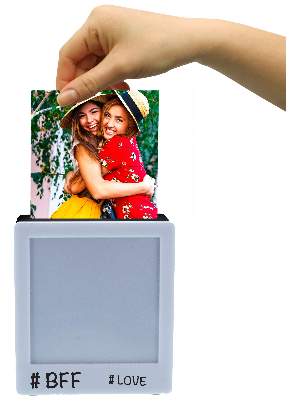 Portarretratos Hearth & Heaven® con luz LED en blanco