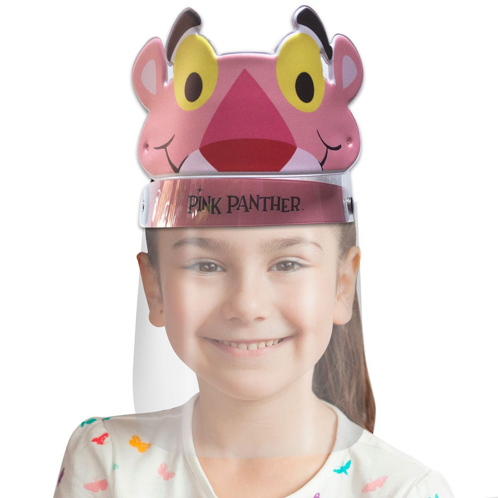 Careta infantil Blink® con diseño de la Pantera Rosa