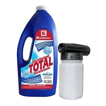 Set Sanitizador Koblenz® liquido y aspersor