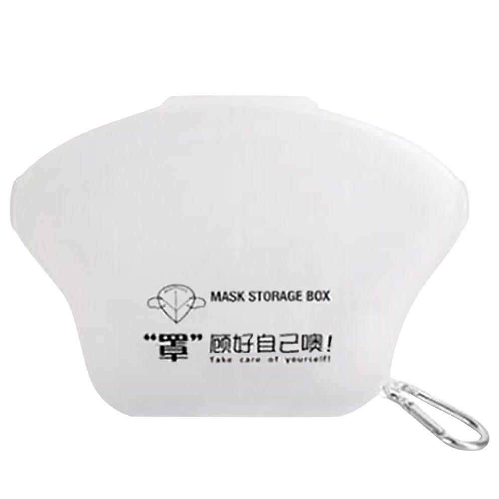 Estuche para cubrebocas Ecostyle® de plástico transparente