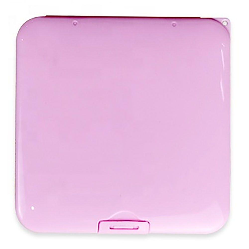 Estuche para cubrebocas Ecostyle® de plástico en rosa