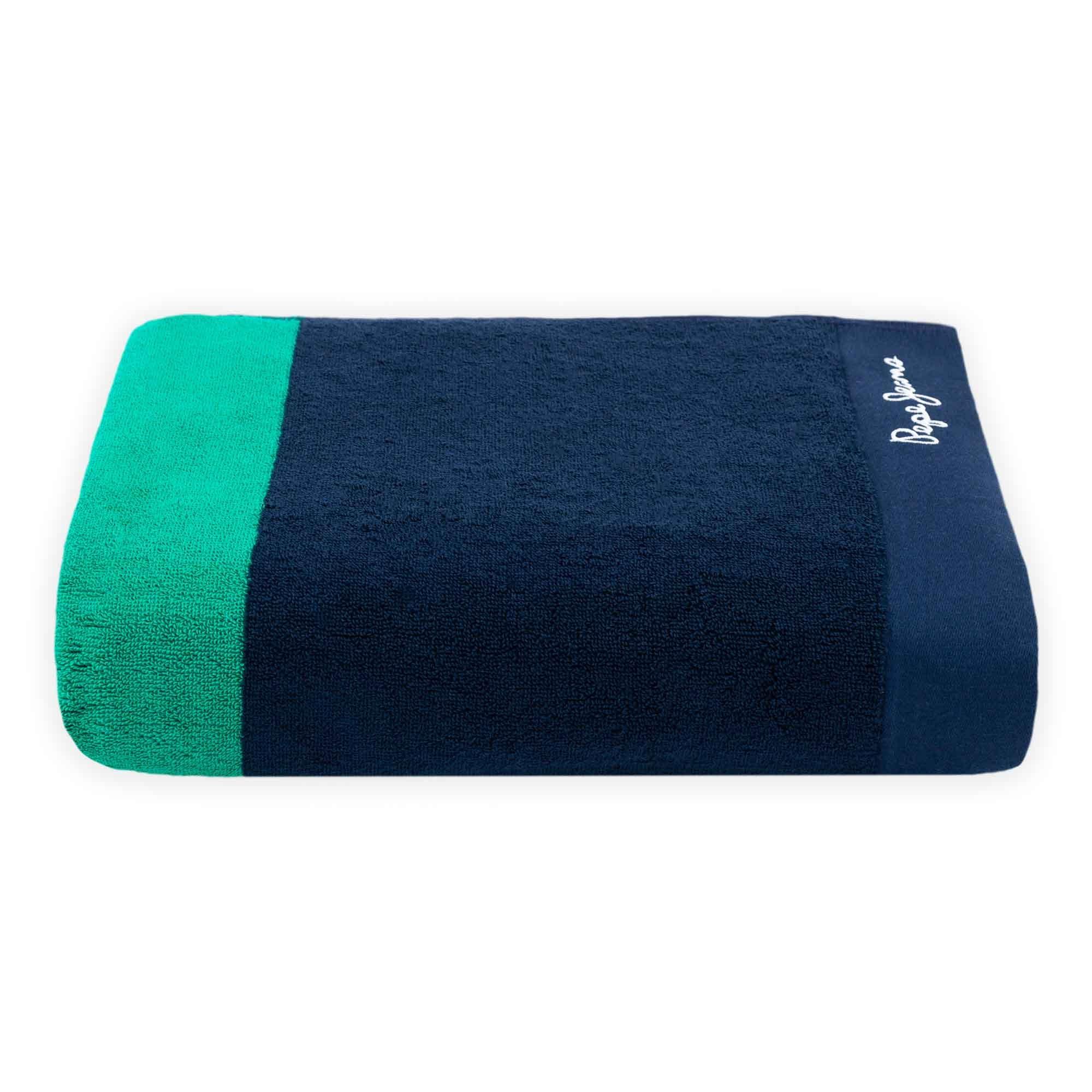 Toalla de baño Pepe Jeans® Pascal en verde/azul