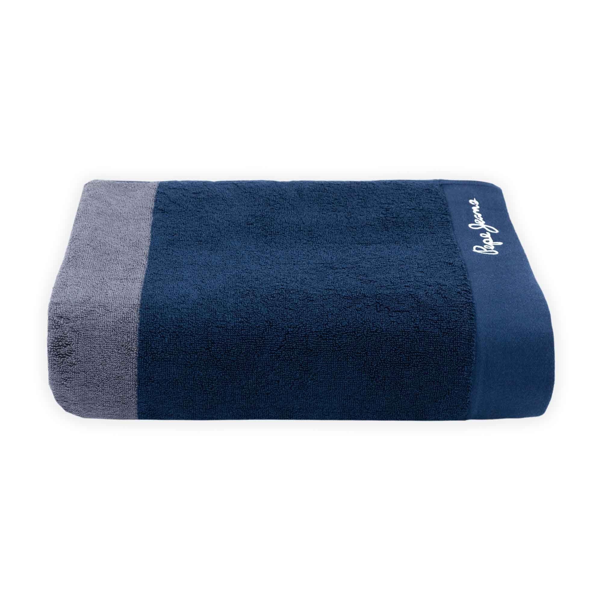 Toalla de baño Pepe Jeans® Pascal en gris/azul