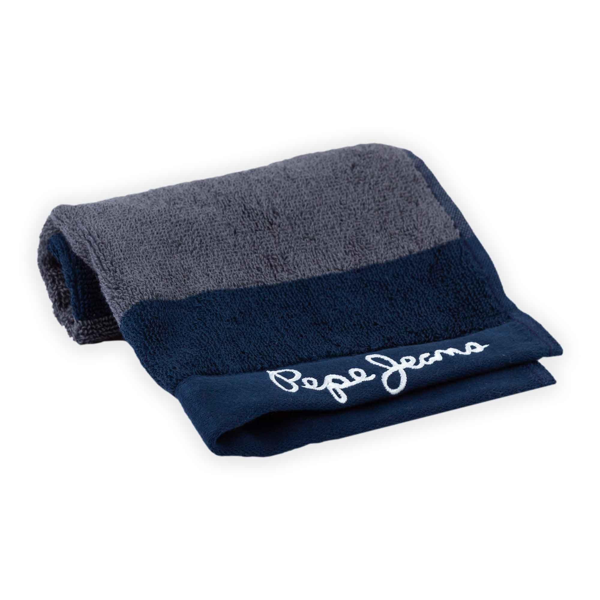 Toalla facial de algodón Pepe Jeans® Pascal color gris/azul