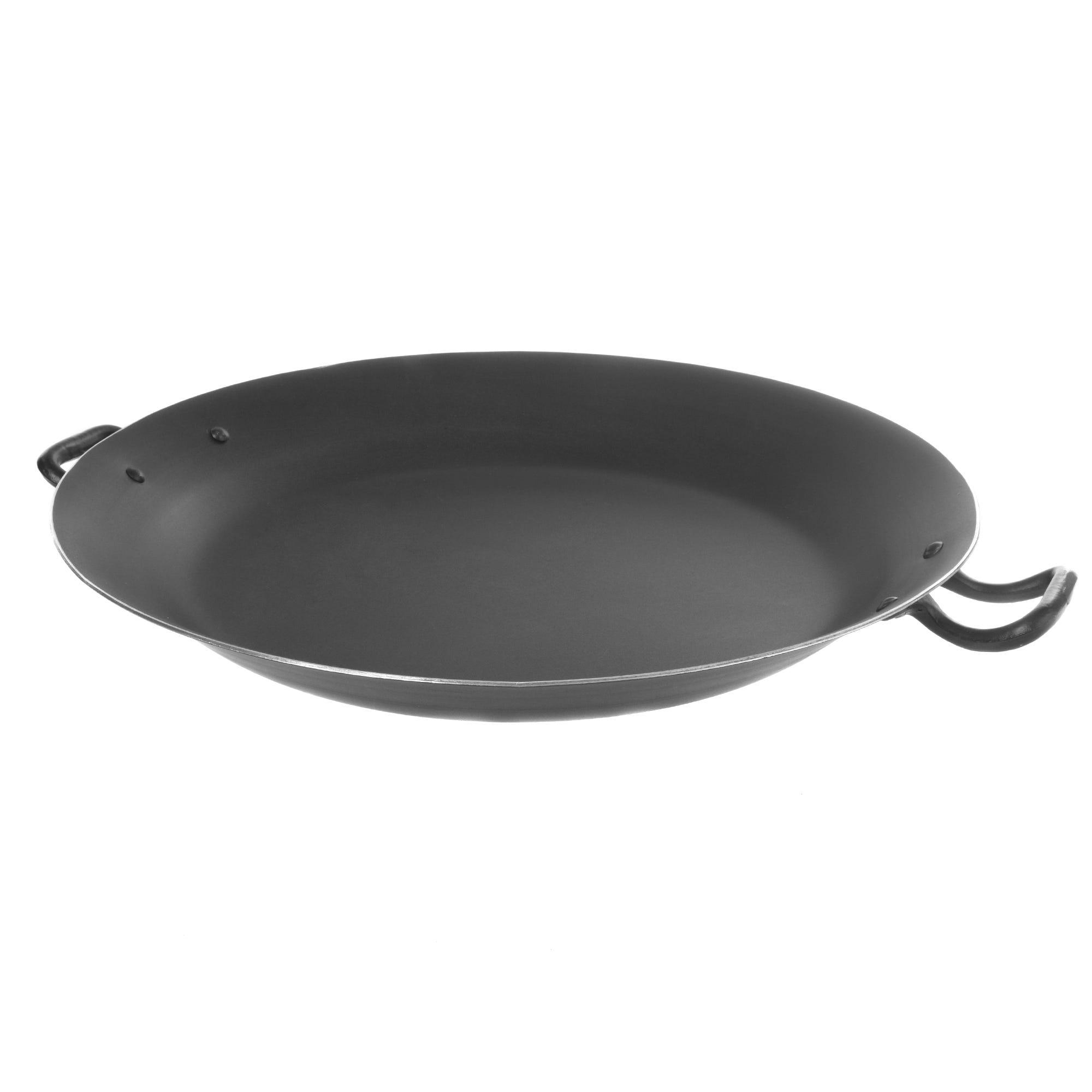 Paellera de aluminio Cocinart color negro