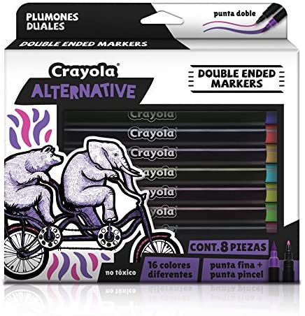 Plumones duales Crayola Alternative, Set de 8