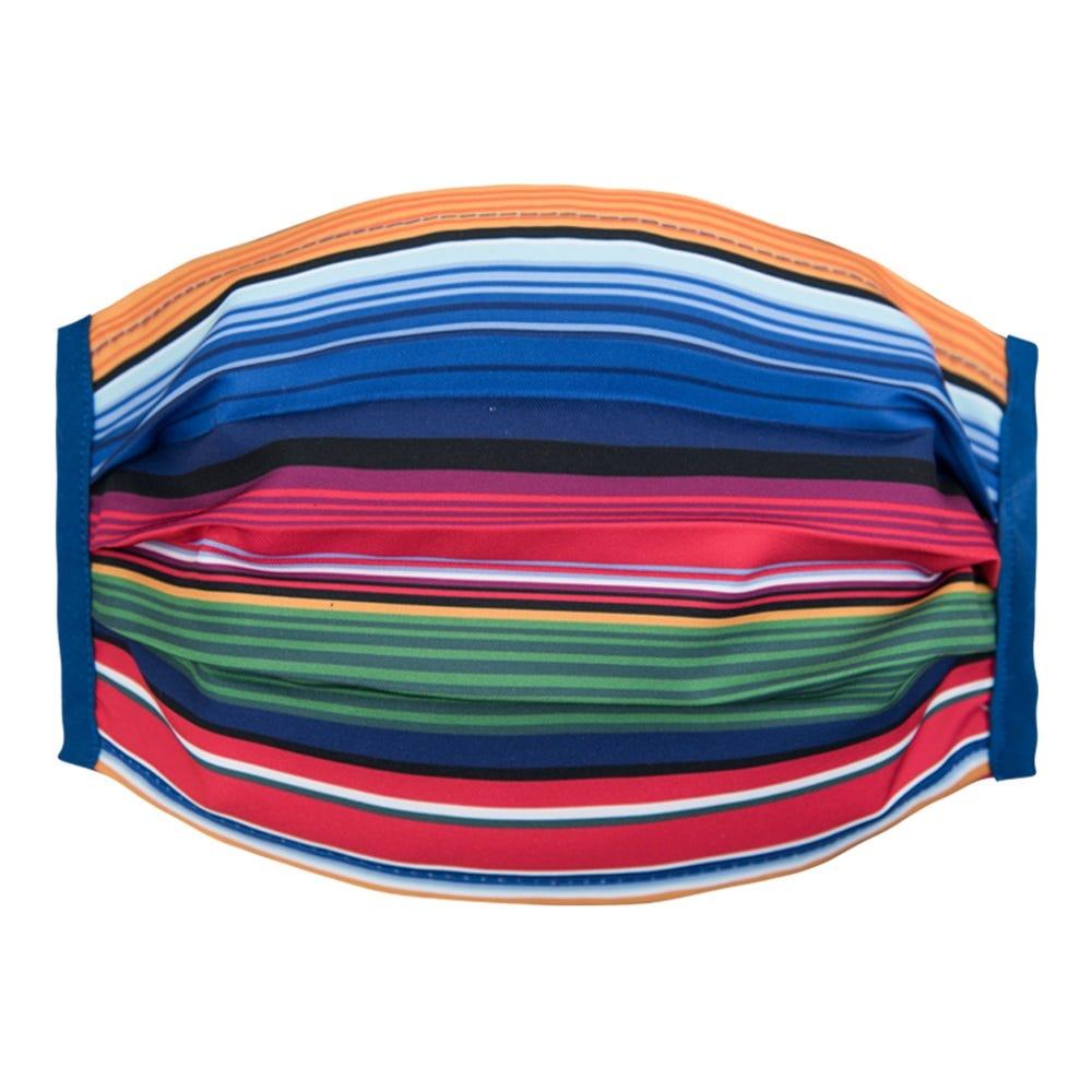 Cubrebocas de poliéster para caballero Karaniart® con diseño de zarape