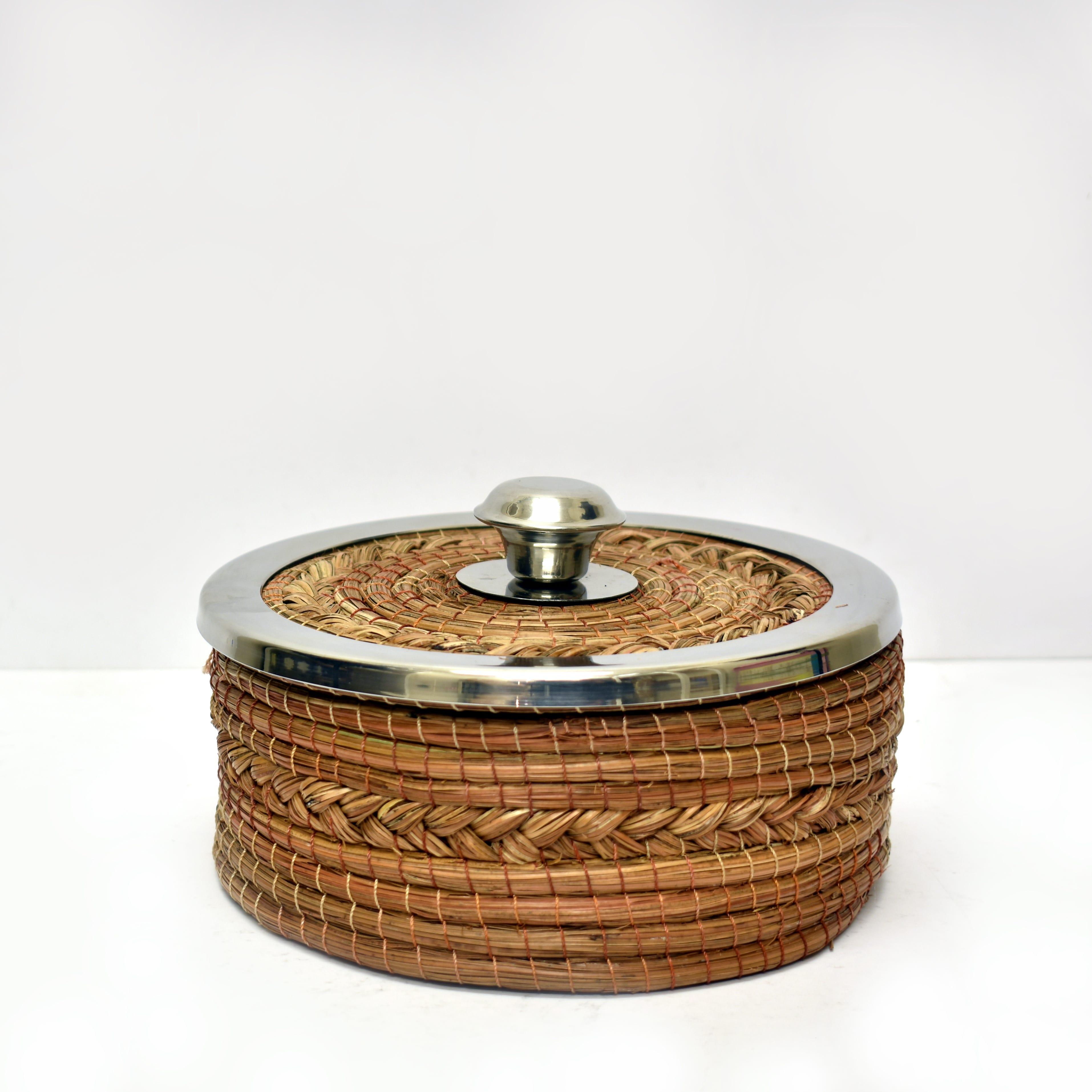 Tortillero artesanal Mejicu® color café